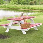 Berlin Gardens Classic Poly Picnic Table