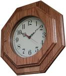 Handcrafted Octagon Wall Clock