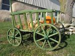 Old Fashion Goat Cart - Large Rustic
