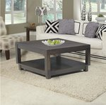 Amish Urban Coffee Table Square with Optional Lift Top