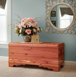 Amish Large Summerfield Waterfall Cedar Hope Chest