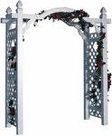 Kingston 7 ft. Vinyl Arch Arbor