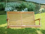 Amish Pine Wood Roll Back Porch Swing