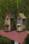 Little Star Garden Bird House with Porch