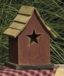 Amish Little Star Bird House