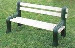 Vinyl Park Bench
