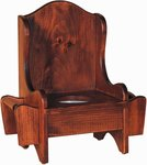 Kids Pine Wood Potty Chair