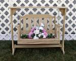 Amish-Wooden-Decorative Hanging Swing-Plant Stand