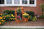 Cedar Pump Planter with Bucket - Small