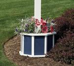 Amish Wooden Painted Flower Box