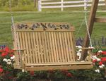 LuxCraft Hummingbird Porch Swing
