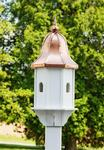 Amish-Made Small Poly Birdhouse