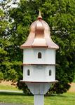 Amish-Made Large Poly Birdhouse