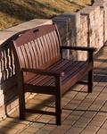 "POLYWOOD® Nautical 48"" Porch Bench"