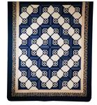 Stars in Log Cabin Quilt Ready to Ship In Stock