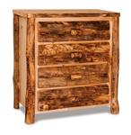 Aspen Log Four Drawer Chest of Drawers
