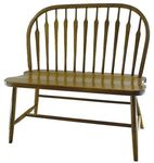 Arrow Bow Windsor Bench