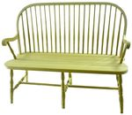 Round Spindle Windsor Bench