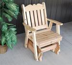 Cedar Wood Royal English Glider Chair