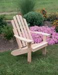 Cedar Wood Kennebunkport Adirondack Chair