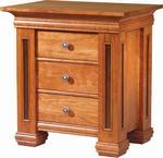 Timber Ridge Three-Drawer Nightstand