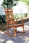 Pine Wood Classic Porch Rocker