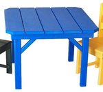 "28"" Child's Poly Square Table"