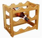 Hardwood Small Wine Rack