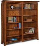 Boulder Creek Mission Double Bookcase