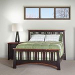 Madison Slat Bed with Standard Footboard