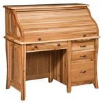 Amish Berkley Small Roll Top Desk