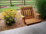 Cedar Wood Royal English Chair Swing