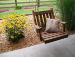 Cedar Wood Traditional English Chair Swing