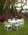 POLYWOOD® La Casa Café 7-Piece Outdoor Dining Set