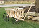 Wooden Goat Cart - Small Premium