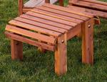 Red Cedar Stationary Ottoman