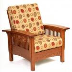 Mission Morris Lounge Chair with Adjustable Back
