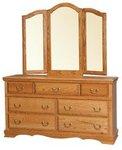 American Heritage Double Dresser