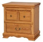 American Heritage Nightstand with Pullout Tray