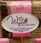 American Made Rosemary and Peppermint Goat Milk Soap