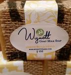 Handmade Goats Milk Soap Lemon and Eucalyptus Scent