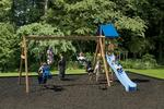 Play Mor Summer's Cove Swing Set