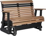 LuxCraft 4' Plain Poly Glider Bench