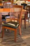 In Stock Cherry Wood Manchester Dining Chair Set of Three (3)