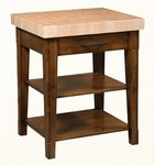 Heritage Shaker Wooden Kitchen Island