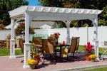 Traditional Vinyl Pergola Kit