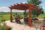 Hearthside Pine Pergola Kit