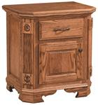 Southern Deluxe 1-Drawer Nightstand