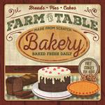 American Made Farm to Table Bakery Plaque