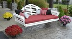 Amish Poly Marlboro Porch Swing Bed